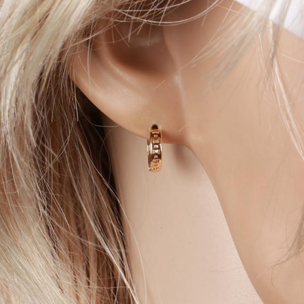 2641711458fb52 kolczyki małe kółeczka - Goldann Sklep z biżuterią Złoto dla skóry ...